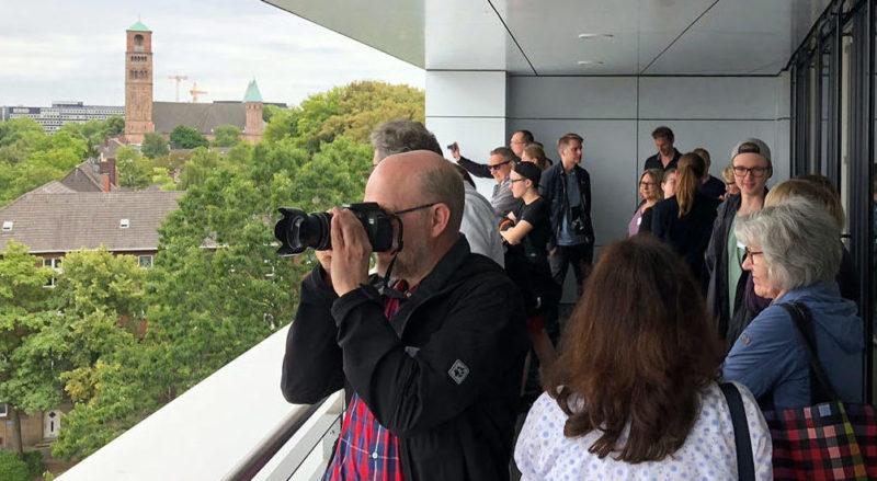 Rundgänge durch das Europa-Center beim Tag der Architektur