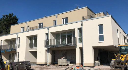 Neubau in Essen-Haarzopf kurz vor der Übergabe